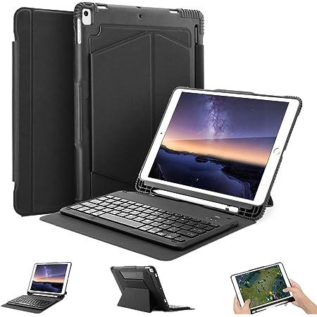 OMOTON Funda con Teclado para iPad 10,5