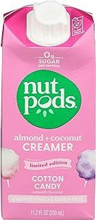 NUTPODS Cotton Candy Almond Coconut Creamer, 11.2 FZ