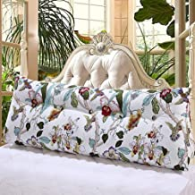 DECUHTE Triangular Wedge Bedside Back Cushions,ThreeDECUHTE Dimensional Bed Backrest Pillow Large Big Headboard Cushion Ta...