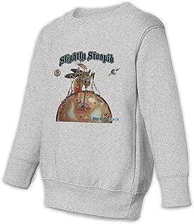 Slightly Stoopid Kids Unisex Sweatshirt Cool Long Sleeve Graphics Printing Pullover Tops Black
