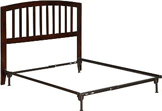 Atlantic Furniture Richmond Headboard with Metal Bed Frame, Full, Walnut