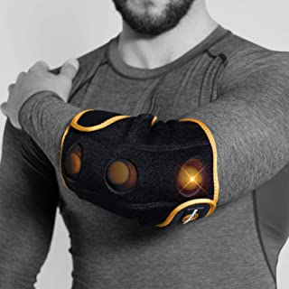Myovolt Wearable Massage Technology for Elbow, Wrist and ARM/Vibration Therapy Device/Warm up, Loosen, and Relax Sore & Stiff Muscles & Joints