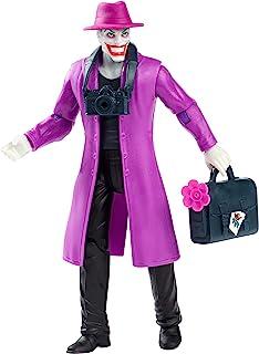 Disney Batman Missions The Joker Figure, 6 Multicolor, Multicolor