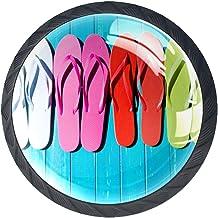 Lade handgrepen Pull voor huis keuken dressoir garderobe,Houten kleur Filpflop