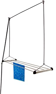Rainbow Drywell Economy 4 Pipes 6 Feet Stainless Steel Ceiling Cloth Dyrer/Clothes Hanger