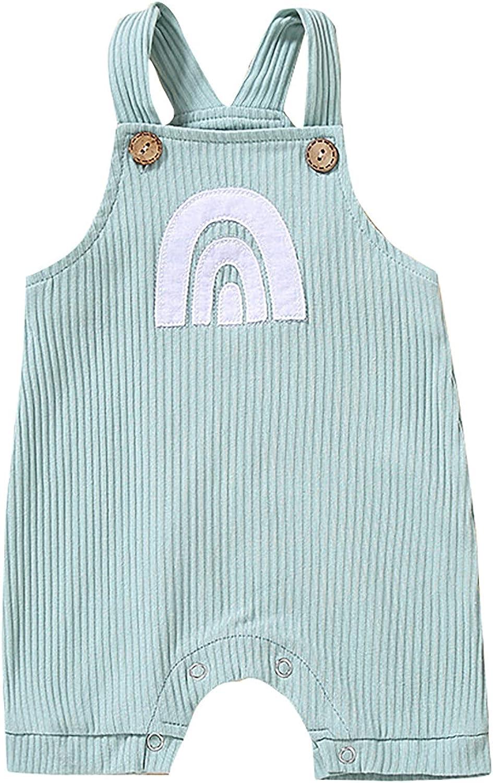 YQRDSHJS Baby Unisex famous Cotton Sleeveless Newborn Ra Classic Bodysuits