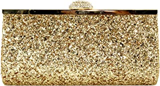 Wiwsi Makeup Lady Cosmetic Coin Purse Handbag Fashion Glitter Sequins Clutch Bag