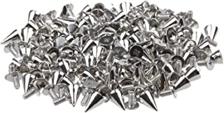 Punk and Goth Accessory Bags Zeagro Spike Cone Studs with Screwbacks for Leather Crafts Decorative Fashion Accessories Clothing 10pcs