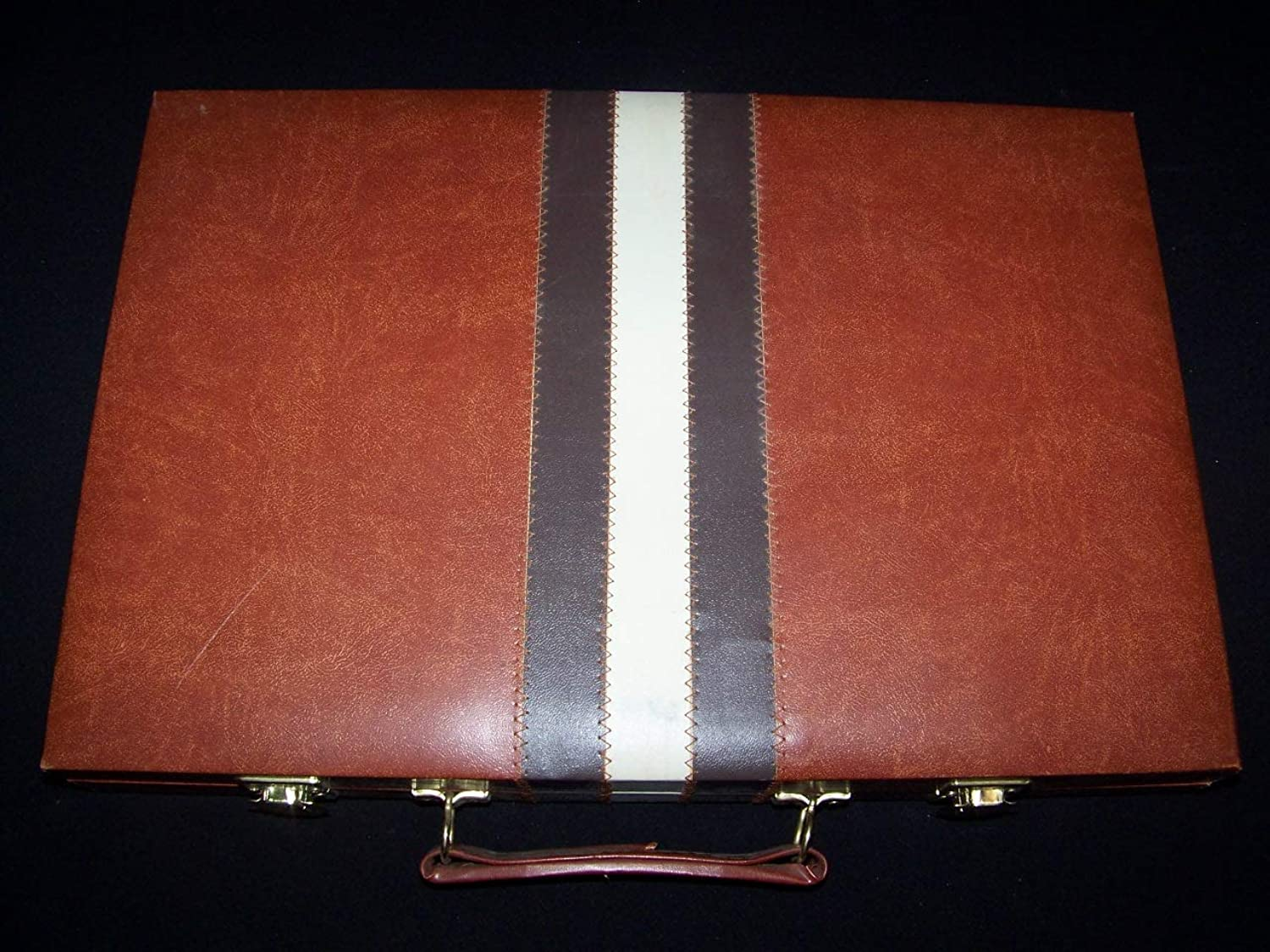 Backgammon Vintage 10  x 15  Travel Carry Case Game