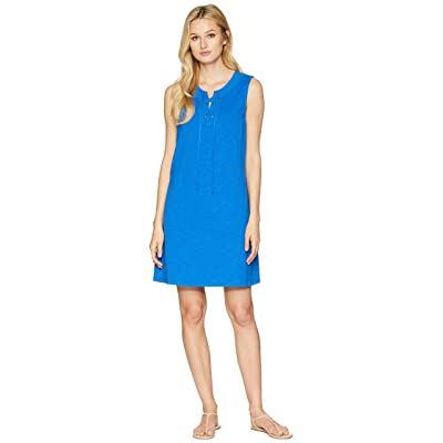 Tommy Bahama Jer-Sea Sleeveless Tie Front Dress (Cobalt Sea) Women