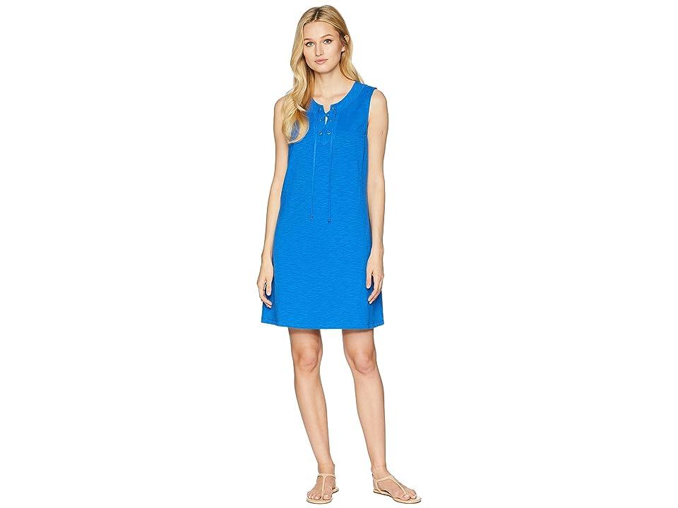 Tommy Bahama Jer-Sea Sleeveless Tie Front Dress (Cobalt Sea) Women