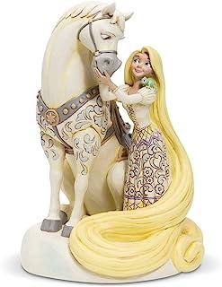 "Disney Traditions, Figura de Rapunzel con caballo de ""Enredados"", Enesco"