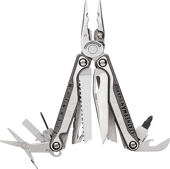 2626 opinioni per LEATHERMAN- Charge TTI, con manici rivestiti al titanio, tronchese