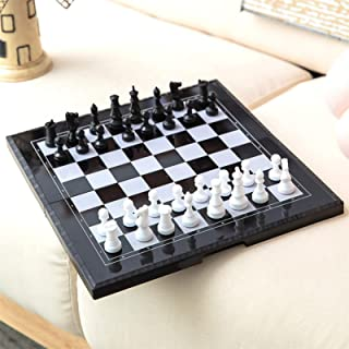 Chess Armory Chess Set, Board Games & Traditional Games for Family Beginners Amusingholiday Chess Set Travel Portable (Puz...