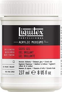 Liquitex - Medium - Gel brillante de 237 ml transparente