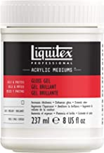 Reeves 451724 Liquitex Gloss Gel Medium-8 Ounces