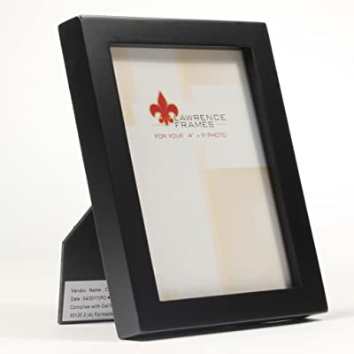 Lawrence Frames 2x3 Gray Wood Gallery Collection Picture Frame 756123