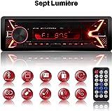 ABS mat Int/érieur Console Centrale CD Button Garniture d/écorative Coque 2/pcs pour accessoire Auto Bzascgla