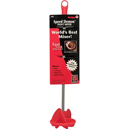 Silver Allway Tools Series Allway 10031 HM1 1 Gallon Helix Paint Mixer 2-Pack
