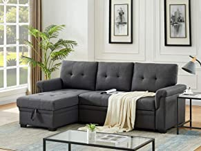 Amazon Com Sectional Sleeper Sofa With Chaise