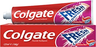 Colgate Toothpaste Fresh Confidence Gel Xtreme Red