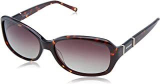 Polaroid X8406S Polarized Rectangular Sunglasses