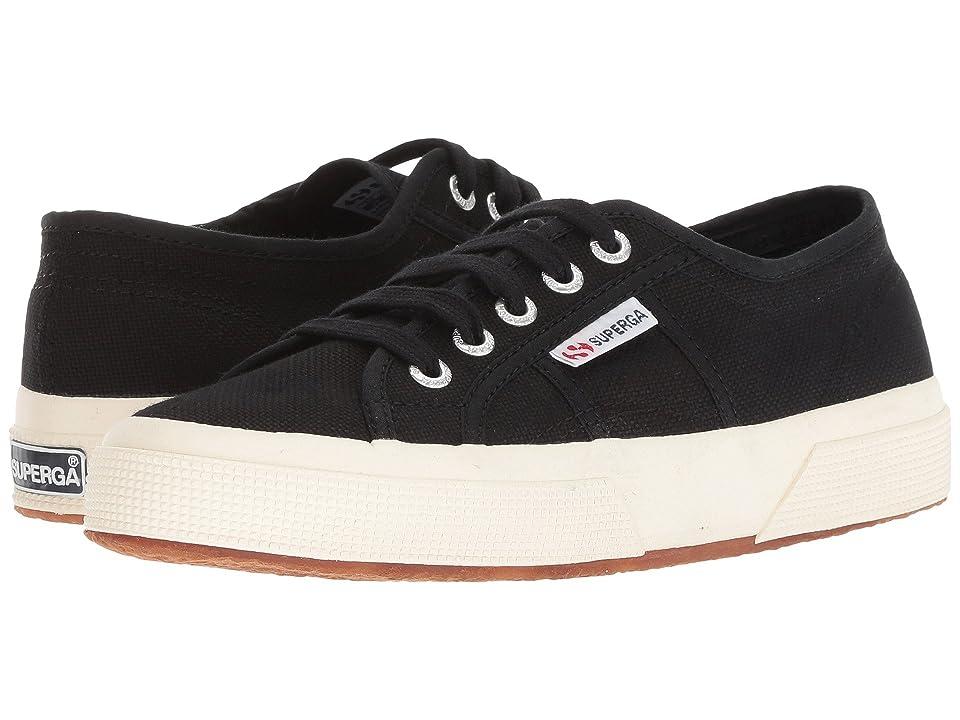 Superga 2750 COTU Classic Sneaker (Black) Lace up casual Shoes