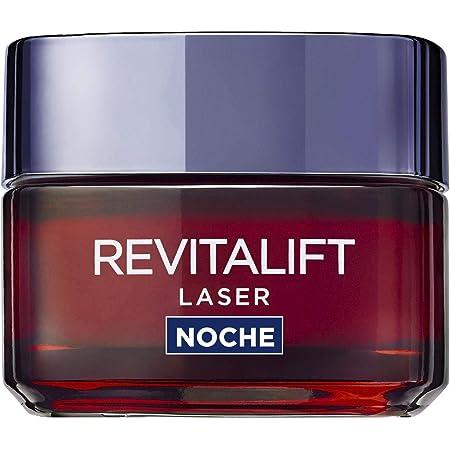 L'Oréal Paris Revitalift Láser Crema de Noche Anti-Edad Triple Acción, Antiarrugas y Multicorrección, 50 ml