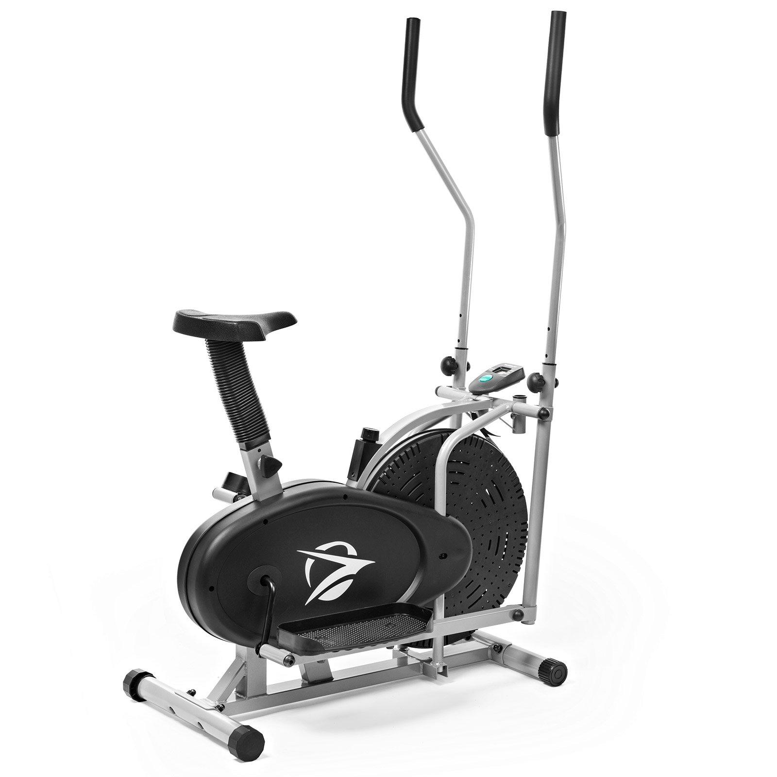 Desconocido Plasma para máquina elíptica Entrenador 2 en 1 Bicicleta estática Cardio Fitness Gimnasio en casa Equipo de Entrenamiento: Amazon.es: Deportes y aire libre