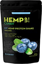 Hemp Up by Canah Blueberry Organic Shake – Fit Hemp Protein Shake for Healthy Lifestyle Meal Replacement Shake with Premium Ingredients for Optimum Nutrition Allergen Free High in Protein 300 Grams Estimated Price : £ 10,80