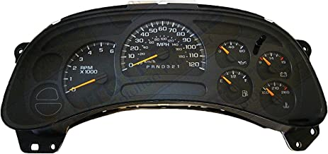 Best chevy silverado instrument cluster for sale Reviews