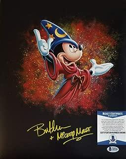 Bret Iwan Autographed Signed Memorabilia Mickey Mouse 11x14 Photo Beckett BAS COA 80 Autograph Disney