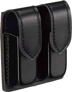 Safariland Duty Gear Glock 19 Hidden Snap Double Handgun Magazine Pouch (Plain Black)