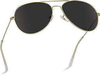 WearMe Pro - Gafas de sol prémium estilo aviador con lente polarizada, clásicas, de diseño y modernas