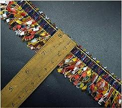QMDSH 3 cm breed kleurrijke kwast 3D kanten webbing geborduurde franje trim lint DIY materiaal kwast kledingstuk accessoir...