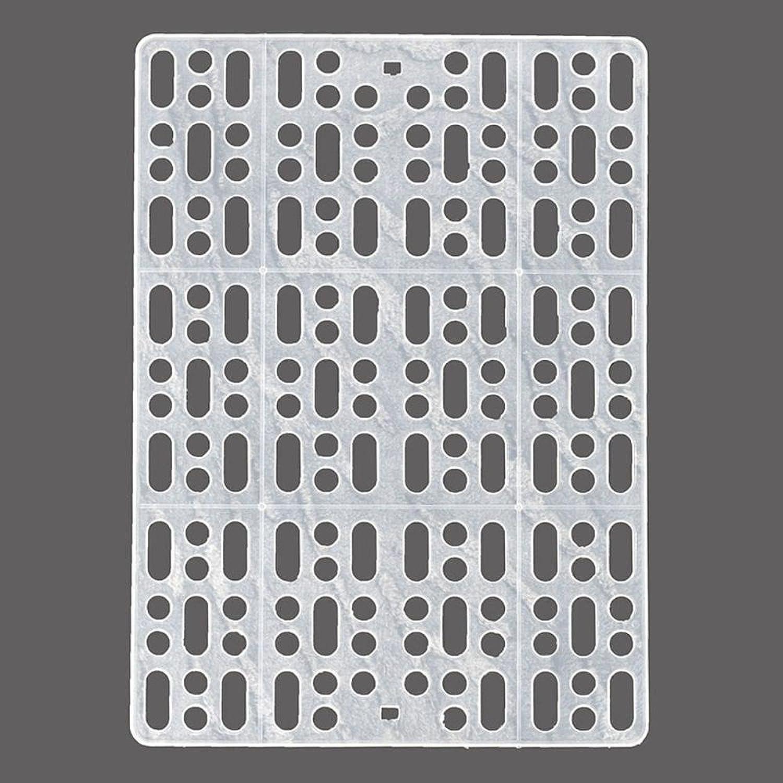 Desti Flakes Pet Bolster Dog Bed Comfort Pet Cage Foot Cushion cat Dog Plastic mesh Rabbit Foot mat (color   C)