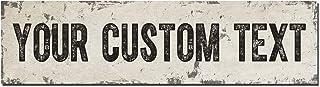 Rustic Custom Metal Sign