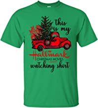 This is My Hallmark Christmas Movies Watching Long Sleeve Shirt Holiday T-Shirt for Men, Woemn and Youth