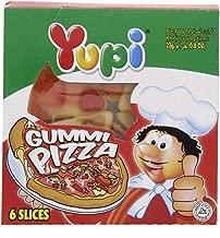Yupi Gummy Candies GUMMI PIZZA , 23g (6 slices).
