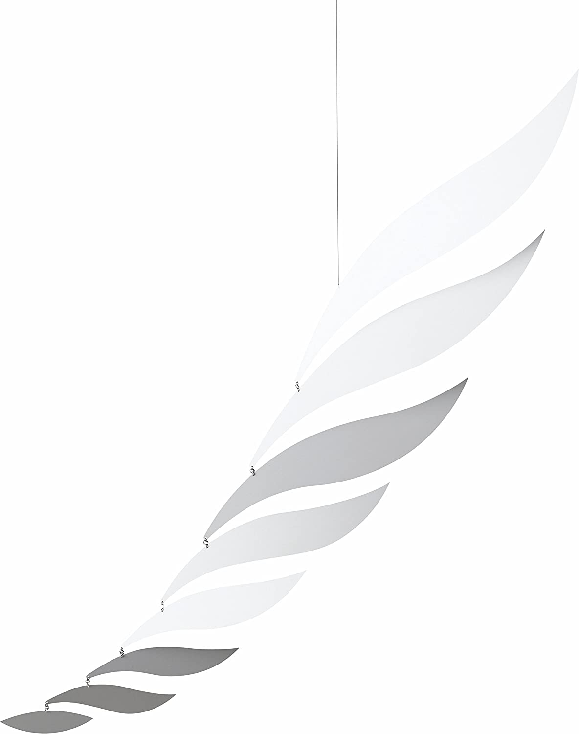 Large Silver Today's only Rhythm Hanging Mobile 56 - Aluminum Excellence Inches Hand