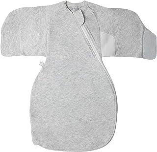 Tommee Tippee Grobag Newborn Sleep Swaddle Wrap, Grey Marl, 0-3 months
