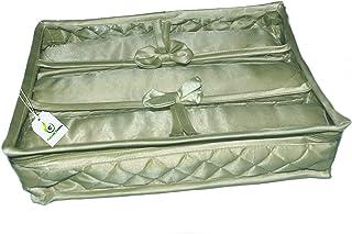 Calcutta Covers Bangle Box/Bangle case/Kit Organizer for Women-3 Rod (Pista Green)