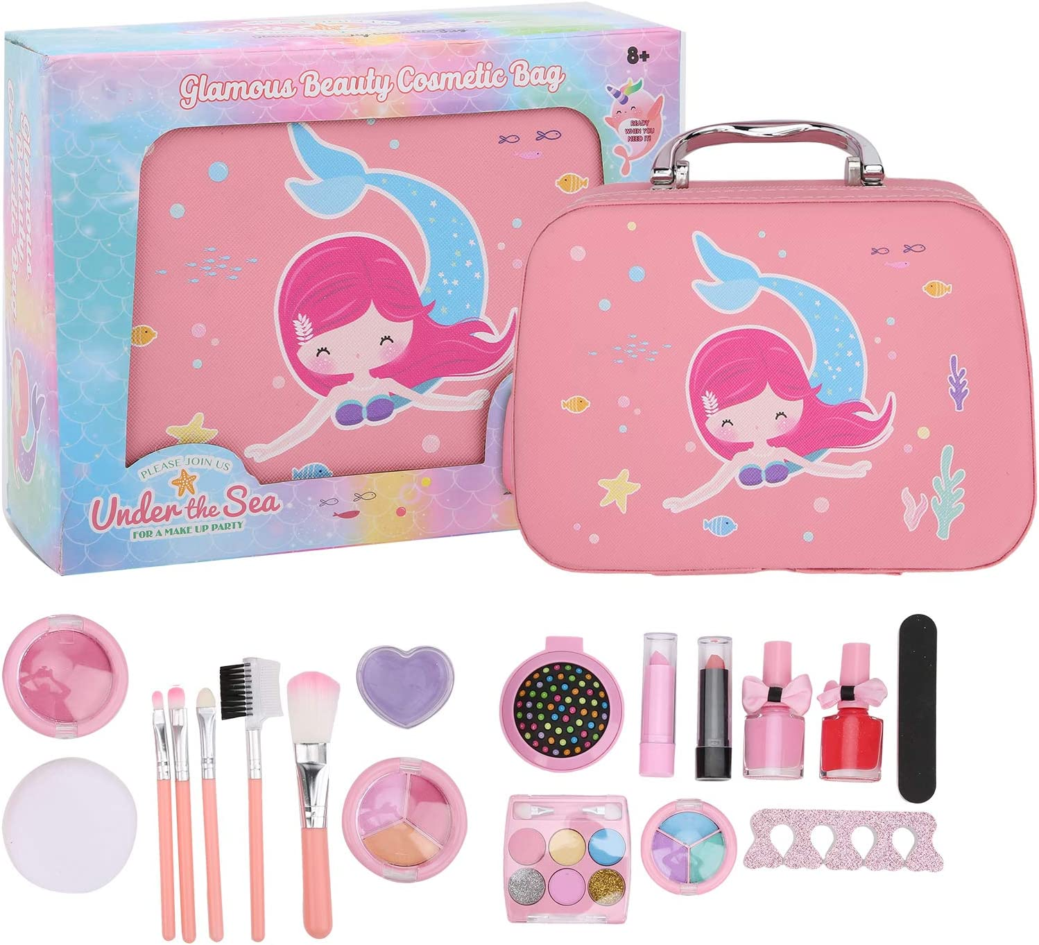 SALUTUY Children Cosmetic 2021 Directly managed store autumn and winter new Makeup NonâToy Handbag Toys