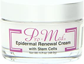 Pro-Med Epidermal Renewal Cream with Stem Cells Anti-Aging Anti-Wrinkle Collagen Stimulant, 1.7 Ounce