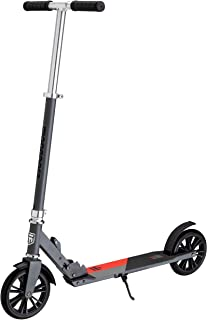 Mongoose Trace Youth/Adult Kick Scooter Folding and Non-Folding Design, Regular, Lighted, and Air Filled Wheels, Multiple ...