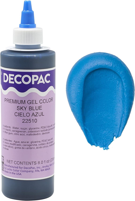 Sky Blue Premium Gel Color- 8 fl oz