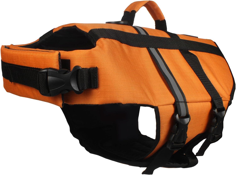 American Kennel Club AK9001ORXS Premium Quality Pet Flotation Life Vestorange XS