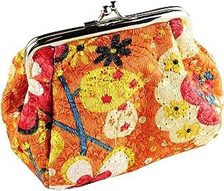 Luxurious Women Fashion Cute Wallet Keys Pouch Coin Purse,Colour:Orange (Color : Orange)