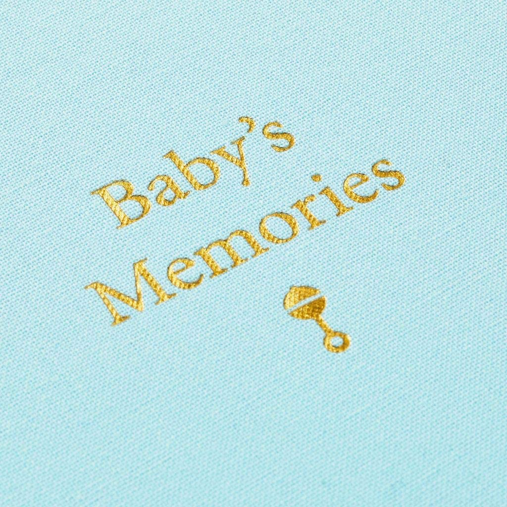 Shoppe National uniform free shipping Love Baby's Memories Box Blue New mail order Memory