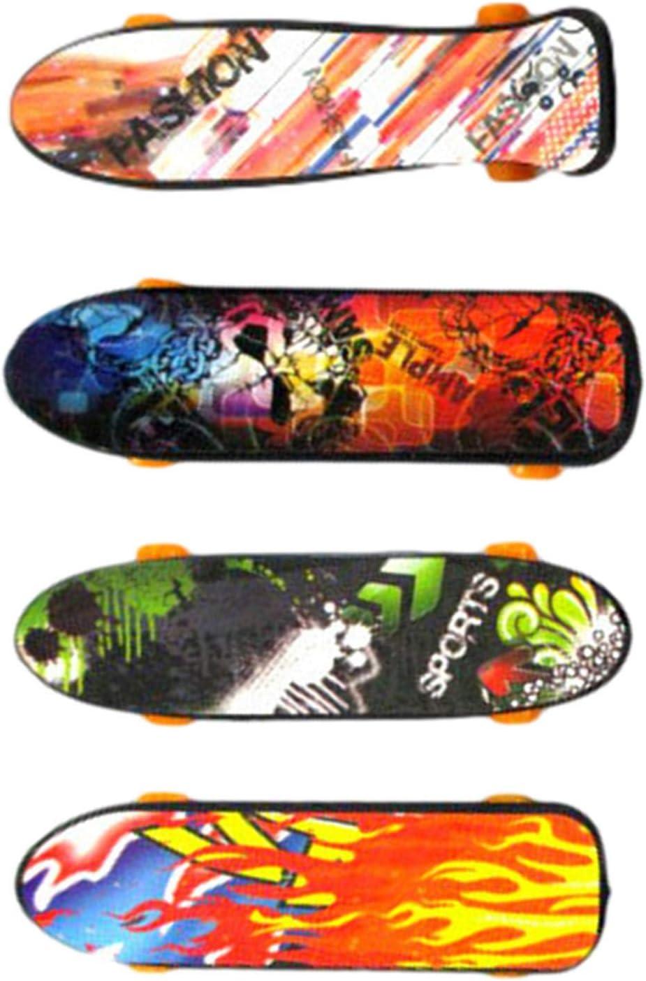 Finger Mini Skateboard 3//4//5 Pcs Deck Truck Finger Board Skate Toy Parfait Pour Les Enfants Party Favors Bag Fillers Enfants Cadeau Couleur Al/éatoire